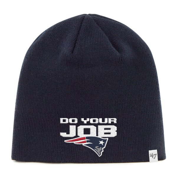 '47 Brand Do Your Job Beanie-Navy
