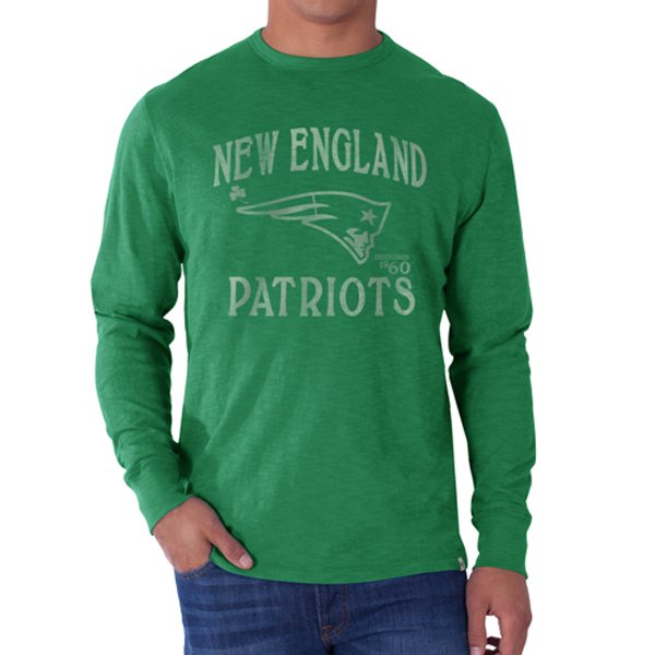 '47 Brand Flanker Long Sleeve St. Patty Tee