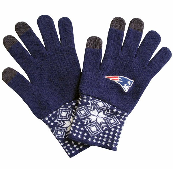 Ladies Camden Touch Gloves-Navy