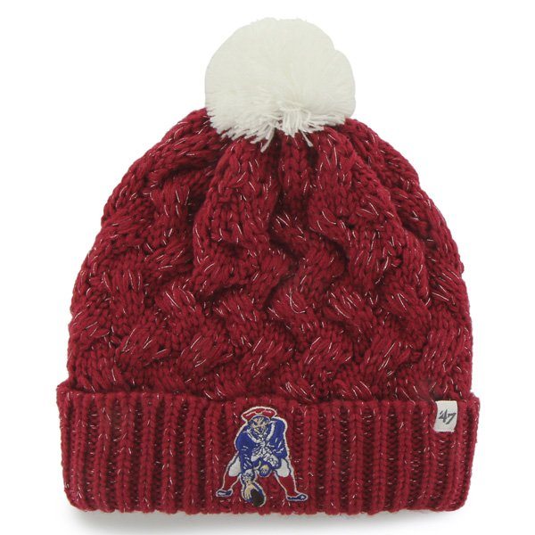 Ladies '47 Brand Throwback Fiona Knit-Red