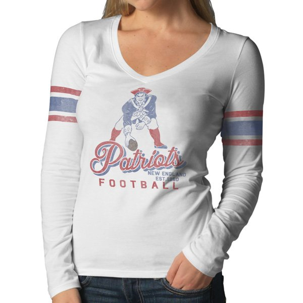 Ladies '47 Brand Throwback HR2 Long Sleeve Tee
