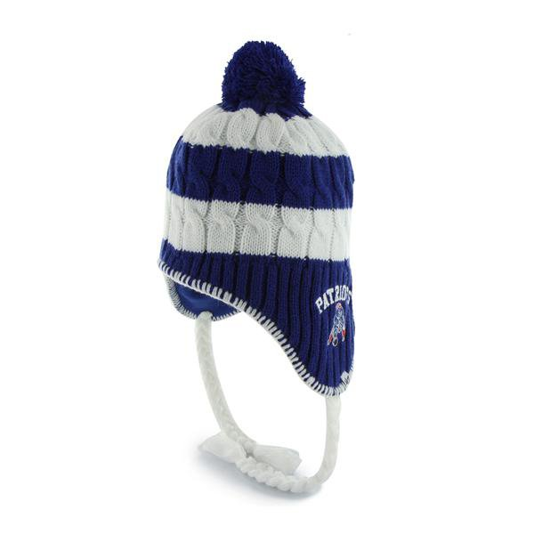 Ladies '47 Brand Throwback Sherpette Royal Knit Hat