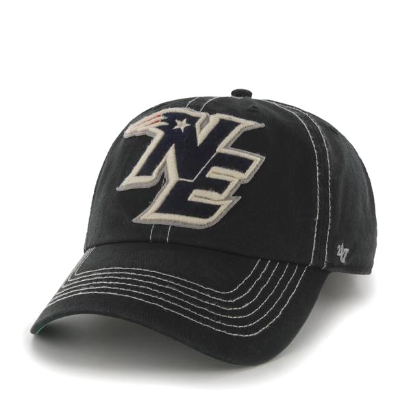 NE '47 Brand Elmwood Cap-Black