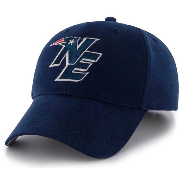 NE Logo '47 Brand Bullpen MVP Wool Cap-Navy