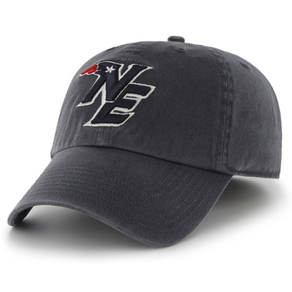 NE Logo '47 Brand Franchise Cap-Navy