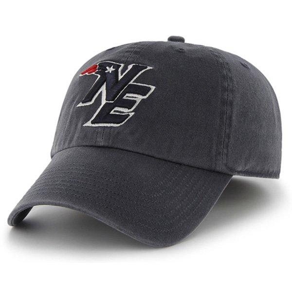 NE Logo '47 Brand Franchise Cap-Navy