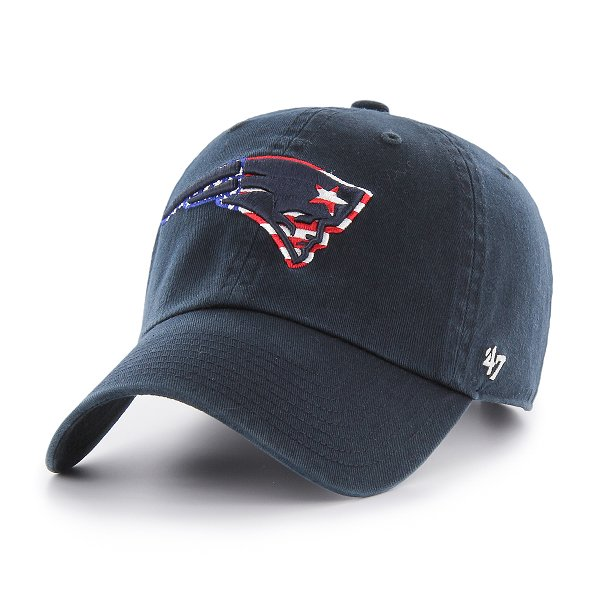 '47 Spangle Banner Clean Up Cap-Navy