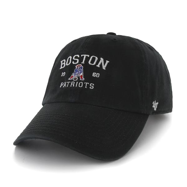 Throwback '47 Brand Boston Original Cap-Black