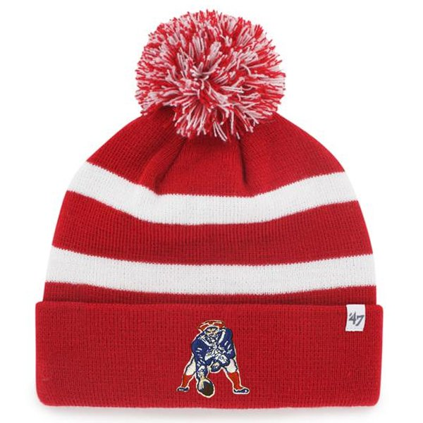 Throwback '47 Brand Breakaway Knit-Red/White