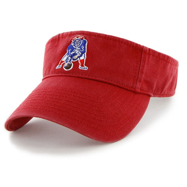 Throwback '47 Brand Clean Up Visor-Red