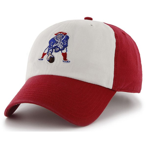 Throwback '47 Brand Freshman Cap-White/Red