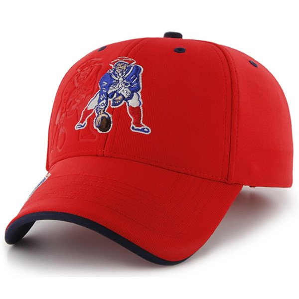 Throwback '47 Brand Major Boss Cap-Red