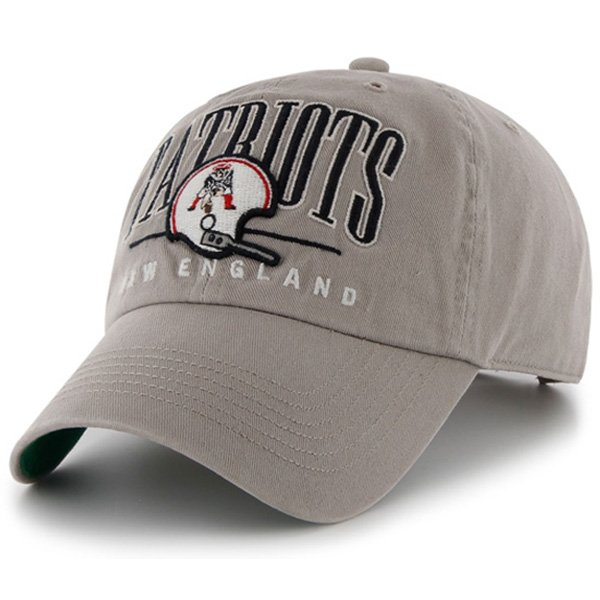 Throwback '47 Brand McBain Snap Back Cap-Gray