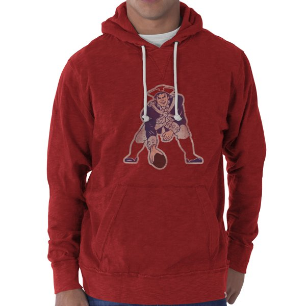 '47 Brand Throwback Slugger Hood-Red