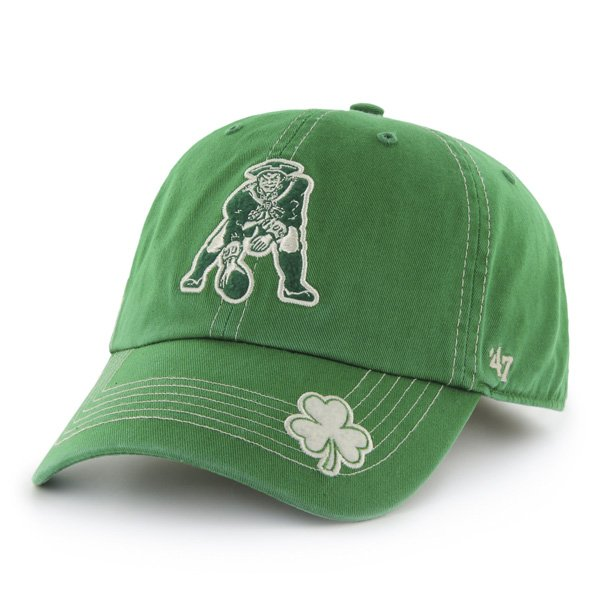Throwback '47 Brand St Patty Fatty Cap-Green