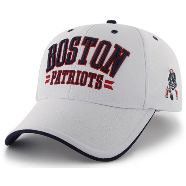 Throwback '47 Brand Burke Boston Cap-White