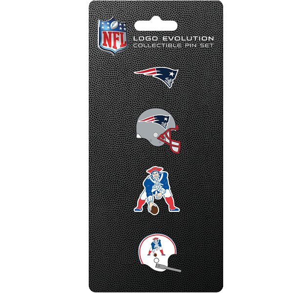 4pc Patriots Pin Set
