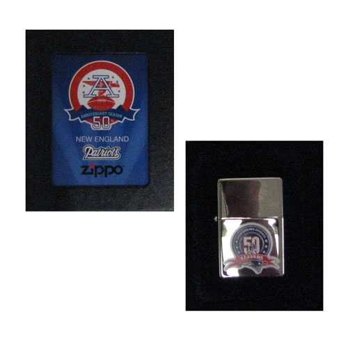 50th Anniversary AFL Zippo Lighter