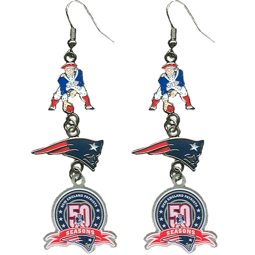 50th Anniversary AFL Logo Earrings