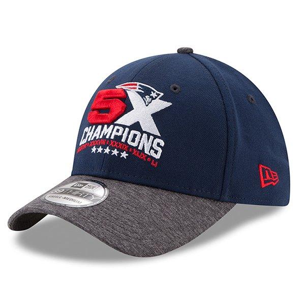 New Era 5X Champs 39Thirty Flex Cap-Navy