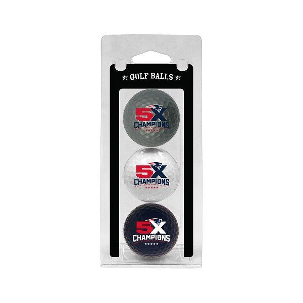 5X Champions Golf Balls-3 Pack