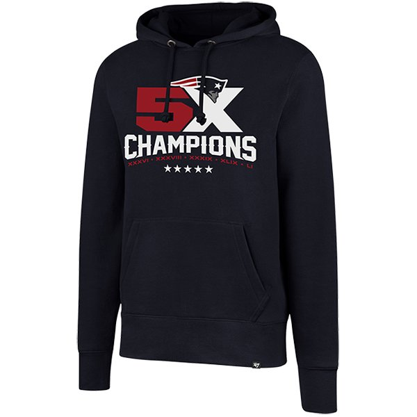 5X Champs Headline Hood-Navy