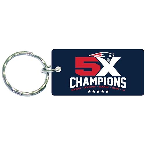 5X Champs Acrylic Keychain