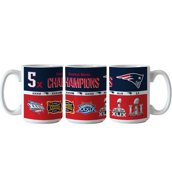 5X Champs 15oz Coffee Mug