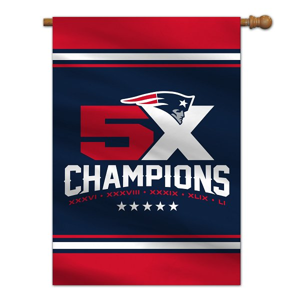 5X Champs House Flag
