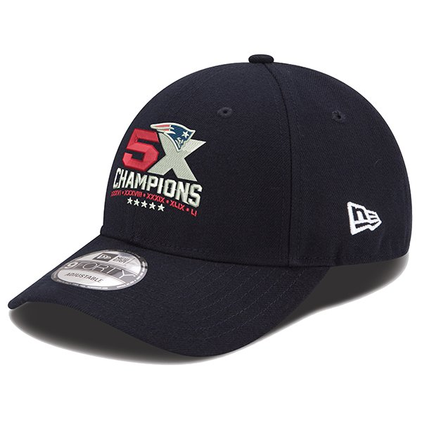 5X Champs New Era 9Forty Cap-Navy