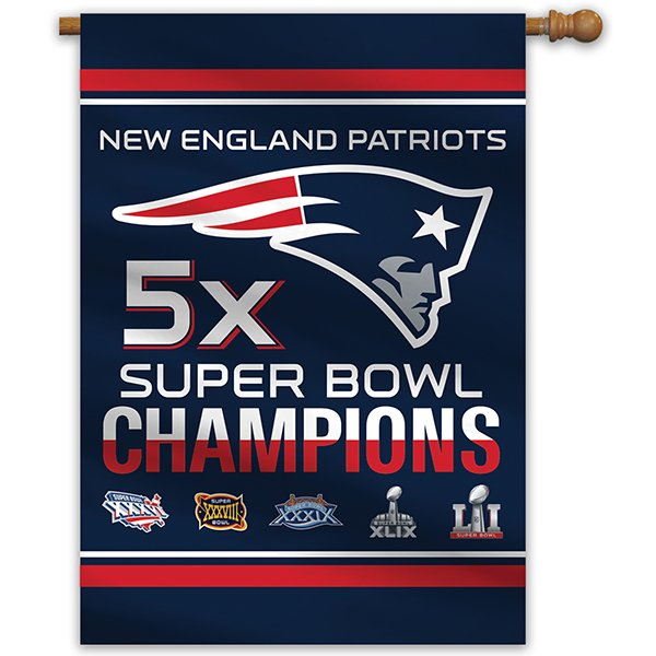 5X Champs House Flag 28x40