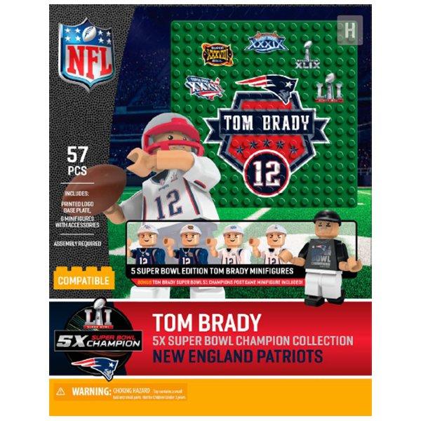 5X Champs Tom Brady Oyo Boxed Set
