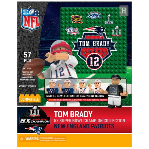 5X Champs Tom Brady Oyo Boxed Set