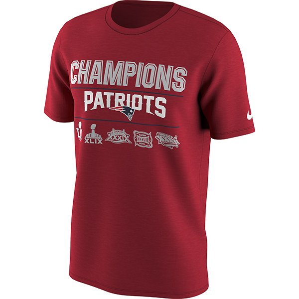 5X Champs Nike Tee-Red