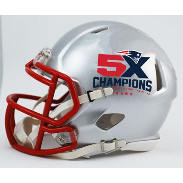 5X Champs Mini Replica Helmet