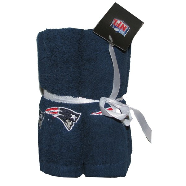 Patriots 6pc Washcloth Set-Navy