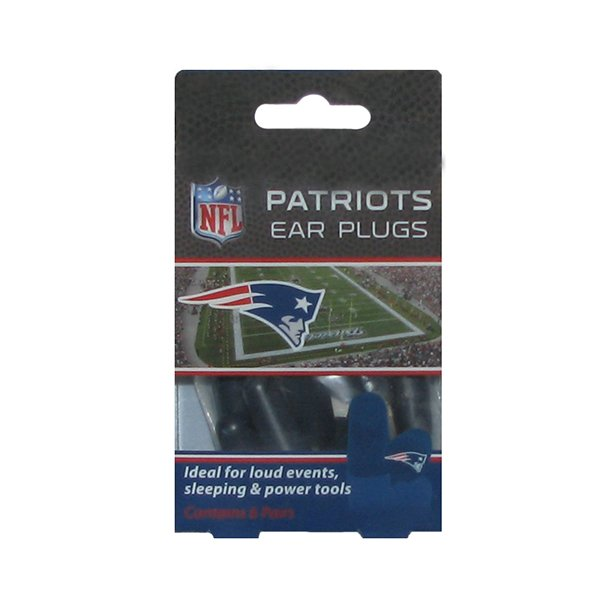 Patriots 6pk of Ear Plugs