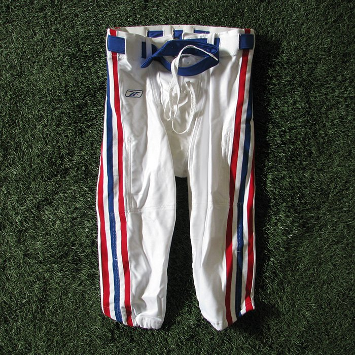 2002 New England Patriots Team Issued Throwback Game Pants