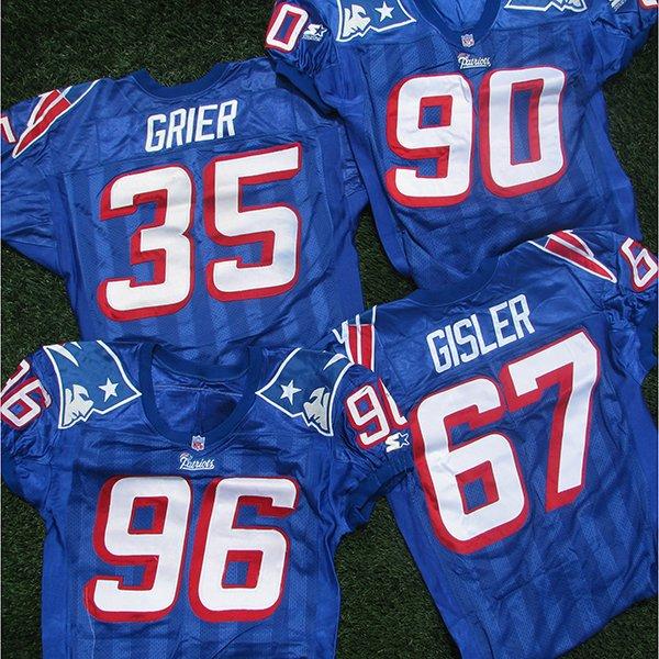 1995-1999 Game Worn Royal Jerseys