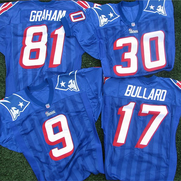1995-1999 Team Issued Royal Jerseys