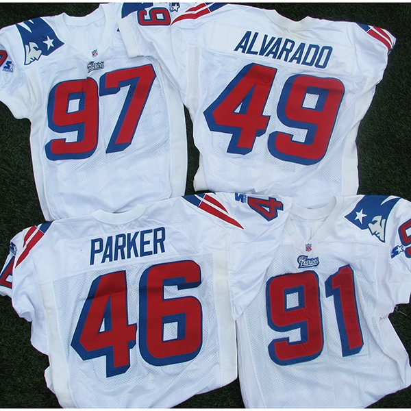 1995-1999 Team Issued White Jersey