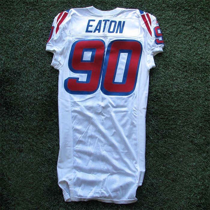 1999 Chad Eaton Team Issued #90 White Jersey