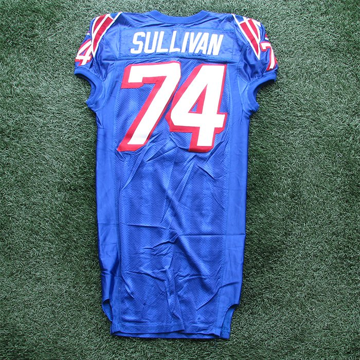 1999 Chris Sullivan Game Worn #77 Royal Jersey