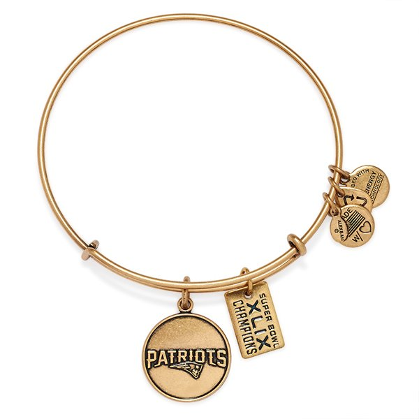 Alex and Ani Super Bowl XLIX Bangle-Rafaelian Gold Finish