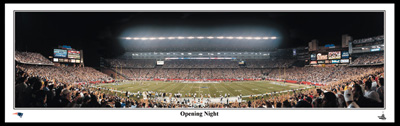 Opening Night  Panoramic Print