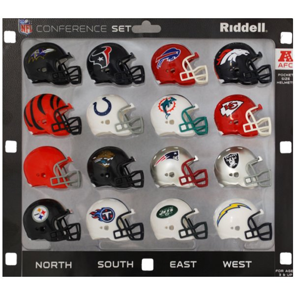 AFC Conference Pocket Pro Set-16pc