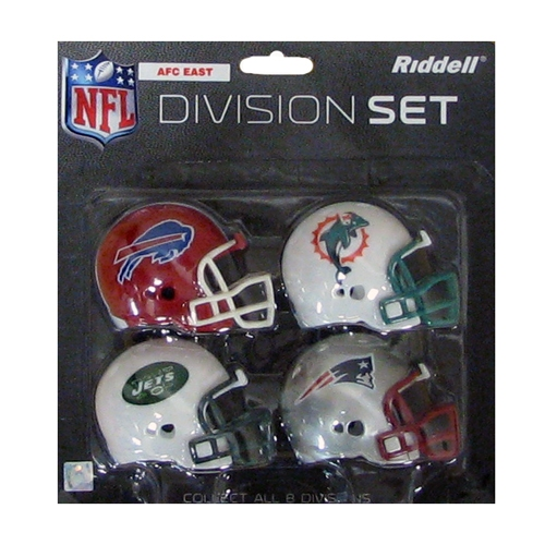 AFC East Pocket Pro Helmets