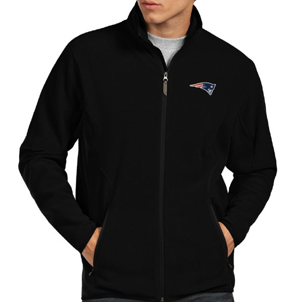 Antigua Ice Full Zip Jacket-Black