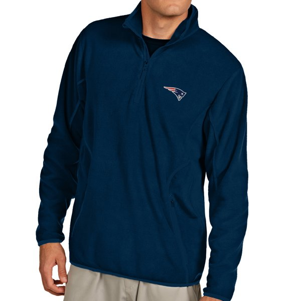 Antigua Ice 1/4 Zip Fleece-Navy