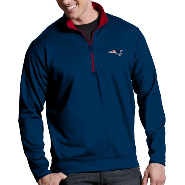Antigua Leader Pullover Jacket-Navy